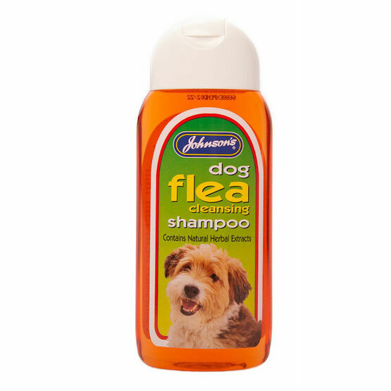 Johnsons Dog Flea Cleansing Shampoo 200ml G045