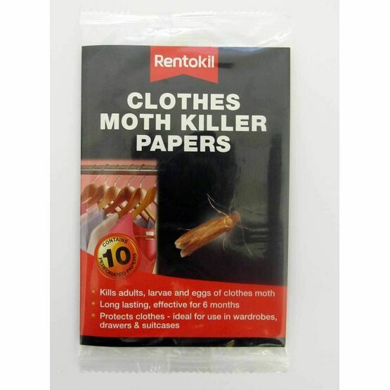 Rentokil Clothes Moth Killer Papers FA115