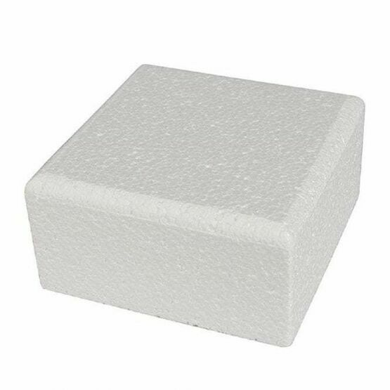 Cake Dummie Square Chamfered 06inch