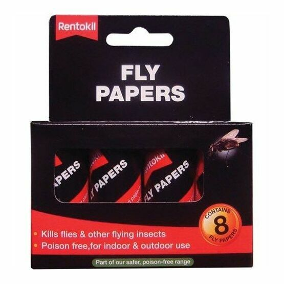 Rentokil Fly Papers (8) FF89
