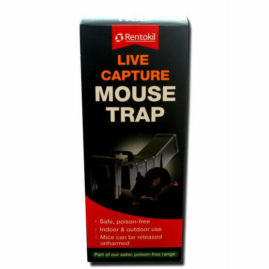 Rentokil Mouse Trap Live Capture PSM68