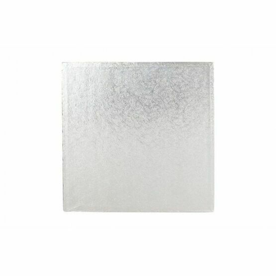 Cake Boards 12mm Drums Square Silver