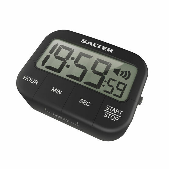 Salter Loud Digital Kitchen Timer - Black