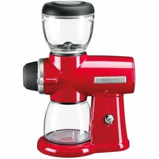 Kitchenaid Artisan Burr Coffee Grinder Empire Red 5kcg0702