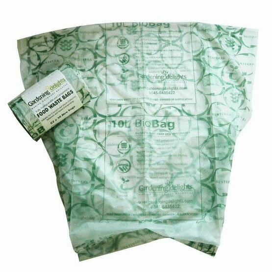 Compostable & Biodegradable Liners Bags 10Ltr
