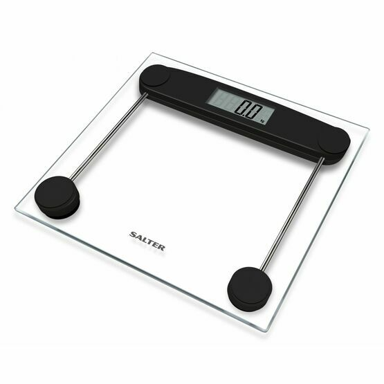 Salter Compact Glass Electronic Scale 9208 BK3R