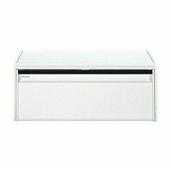 Brabantia Fall Front Bread Bin White 198625