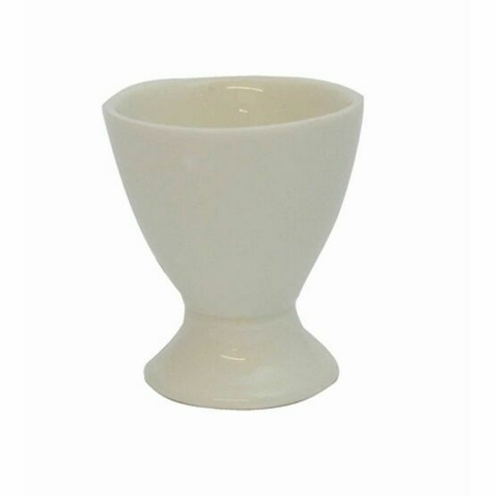 Single White Egg Cup